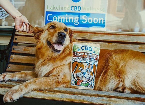CBD Infusionz Bacon Flavored Dog Treats 250mg