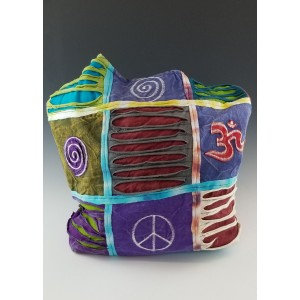 Ohm Patchwork Hippie Purse