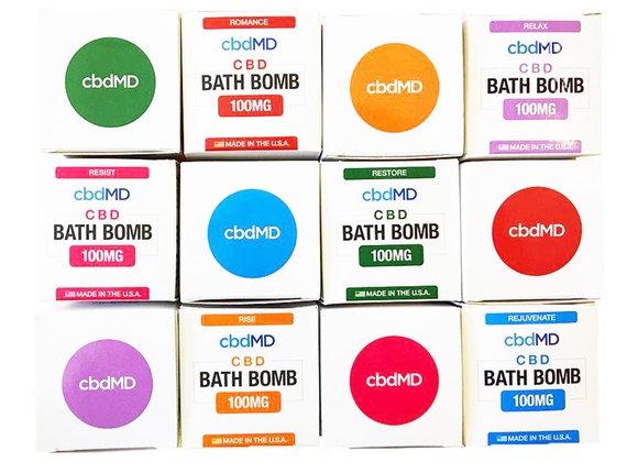 cbdMD 100mg CBD Bath Bomb