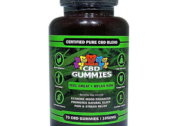 HempBombs Gummies 70 count
