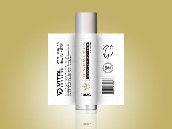Hempmetics CBD Lip Balm 10mg