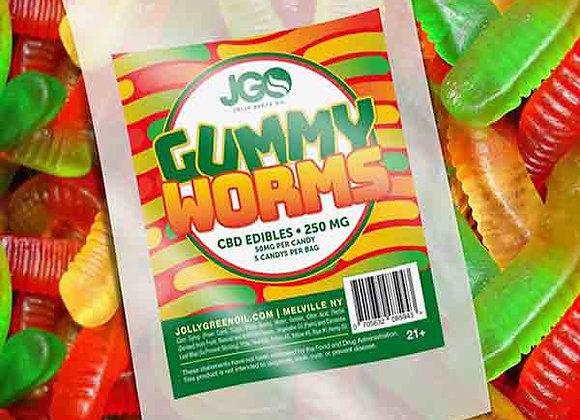 JGO Gummy Worms 250mg