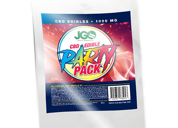 JGO Party Pack 1000mg