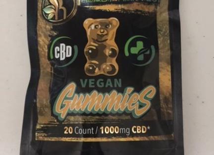 Heady Harvest Gummy Bears 1000mg