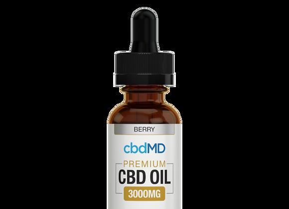 cbdMD Premium CBD OIL 3000mg