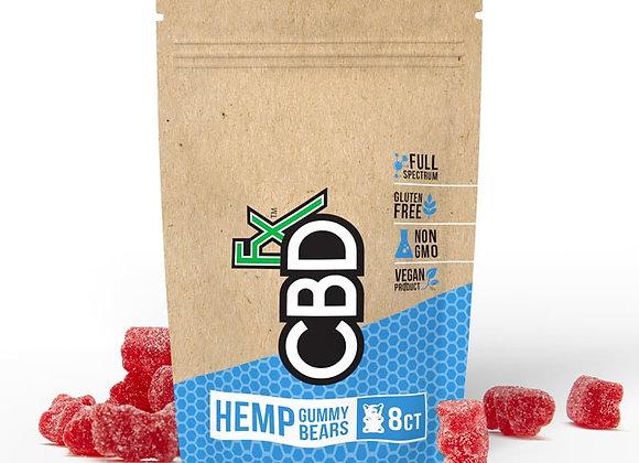 CBDfx CBD Gummy Bears 40mg (8ct Pouch)