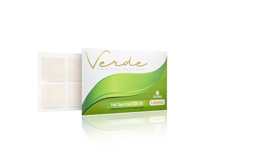 Verde Topical 6 Patch 600mg