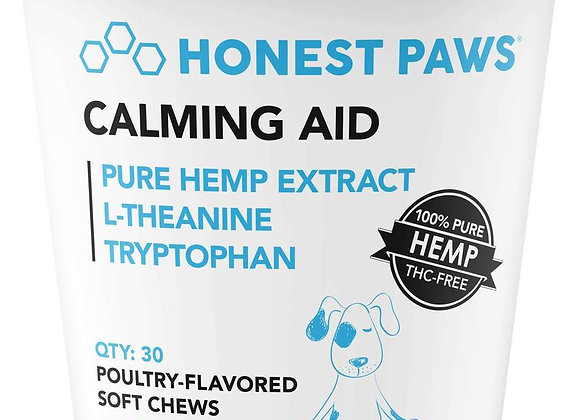 Honest Paws Calming Aid - Hemp Soft Chews 250mg