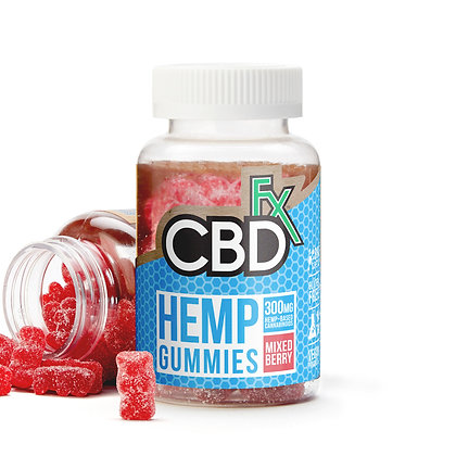 CBDfx CBD Gummy Bears 300mg