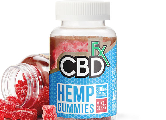 CBDfx CBD Gummy Bears 300mg