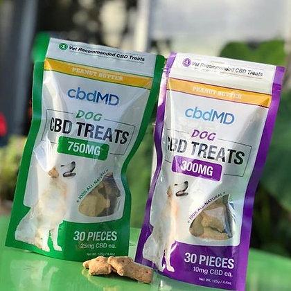cbdMD Dog Treats 750mg 30 Count