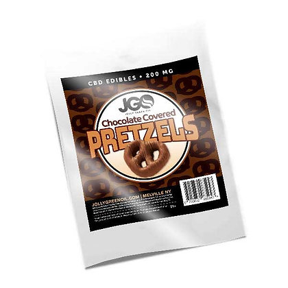 JGO Chocolate Covered Pretzels 200mg