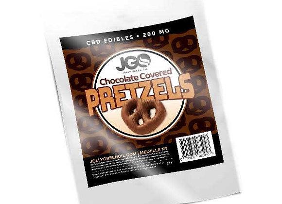 JGO Chocolate Covered Pretzels 200mg