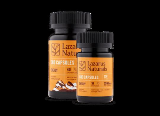 Lazarus Naturals 250mg Energy Formula