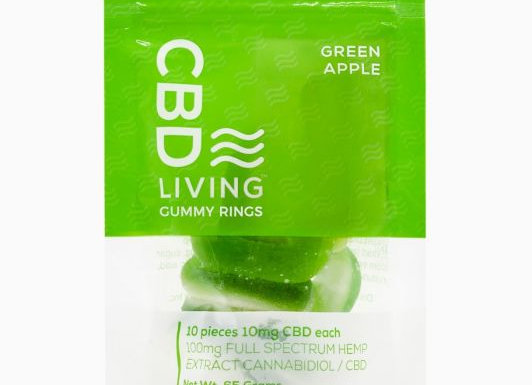 CBDLiving Apple Rings 100mg
