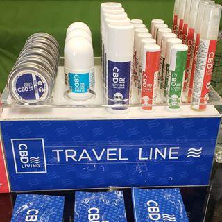 CBD Living Travel Line Priced Individually