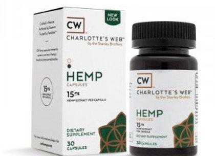 Charlottes Web Hemp Capsules
