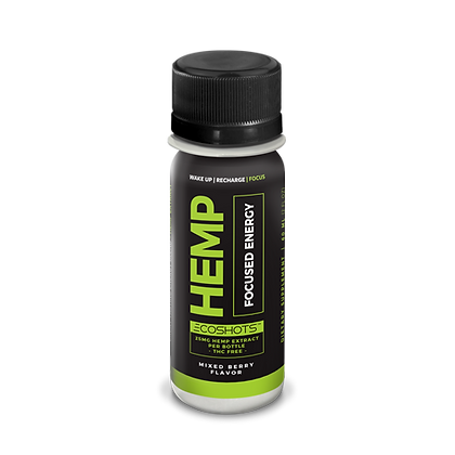 ECOSHOT Hemp Energy Blend 25mg