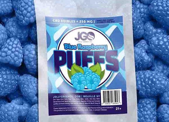 JGO Blue Raspberry Puffs 250mg