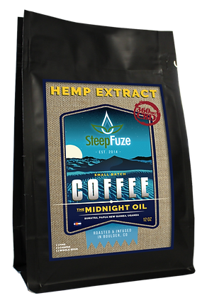 Steep Fuze CBD Coffee Midnight Oil 90mg