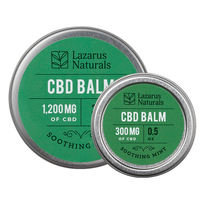 Lazarus Naturals 1200mg Soothing Mint CBD Balm