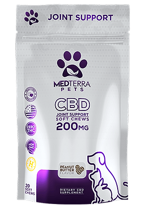 MedTerra 200mg Pets Joint Support Soft Chews