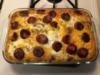 Easy To Prep Breakfast Casserole