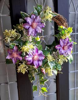 Clematis Wreath
