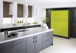 Alto Textured Lime and Anthracite