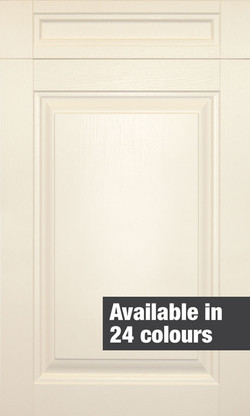 Coleridge Painted Alabaster Door.
