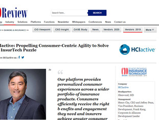 HCIactive In CIOReview's 20 Most Promising Insurance Technology Solution Providers