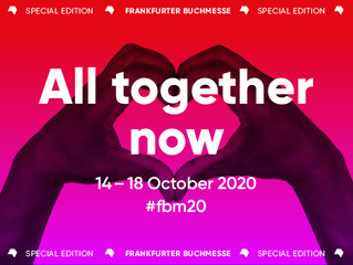 Textofilia en la Frankfurt Buchmesse 2020