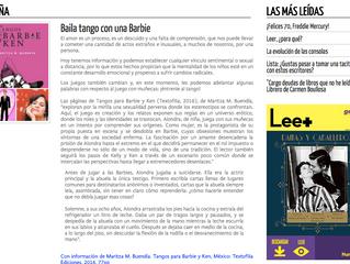 Lee + de Librerías Gandhi: Baila tango con una Barbie
