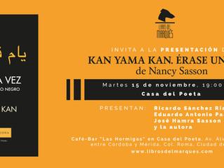 Kan Yama Kan / Érase una vez: Presentación con la autora