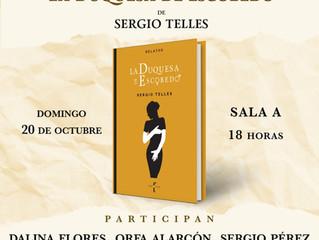 Sergio Telles y La Duquesa de Escobedo en FIL Monterrey 2019