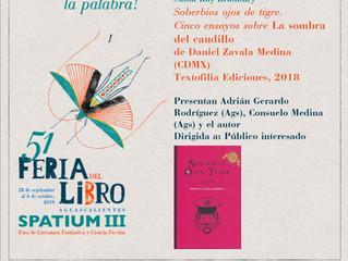 Feria del Libro de Aguascalientes 2019