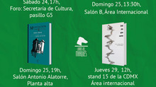 Textofilia Ediciones en FIL Guadalajara 2018 / Stand L24 (AEMI)