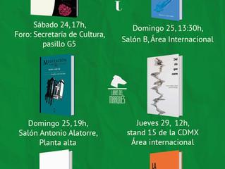 Libros del Marques en la FIL Guadalajara 2018 (Stand L24)