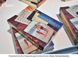 Firma de libros de Eliza Puente