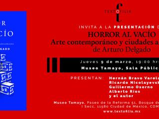 """""""Horror al Vacío"""" en el Museo Tamayo"""