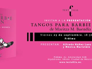 Tangos para Barbie y Ken: lanzamiento en Freims, Condesa.