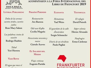 Frankfurt Buchmesse 2019 con Dharma Books