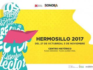 Feria del Libro de Sonora 2017 / stand Librería Hypatia.