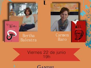 Bertha Balestra y Carmen Haro en Gandhi Del Valle