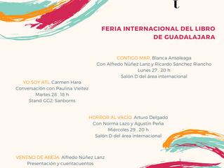 FIL Guadalajara 2017 / Stand L24 (con AEMI).