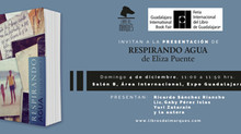 """Eliza Puente presentará """"Respirando Agua"""" en la FIL Guadalajara / Libros en el stand L24 c"""