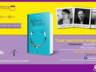 """Evento con Librerías Gandhi: """"Los secretos engarces"""""""