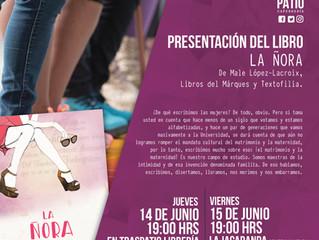 """Male López-Lacroix y """"La Ñora"""" en Michoacán, con El Traspatio."""