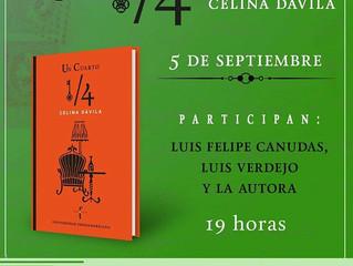 """Lanzamiento de """"1/4"""" en CDMX: FCE Condesa."""