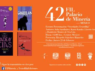 42 Feria Internacional del Libro del Palacio de Minería 2021 (Edición Virtual)